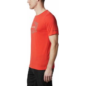 Columbia Terra Vale II Kurzarm T-Shirt Herren wildfire roam hex